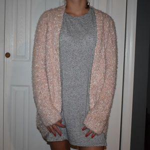 Super soft pink cardigan